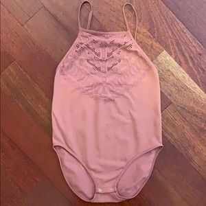 Free People High Neck bodysuit